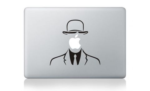 "Magritte #Macbook 13"" Sticker 129.00Kr"
