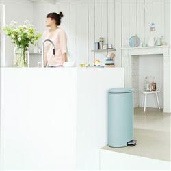 Brabantia Flatback+ Pedaalemmer 30 L kopen? Bestel bij fonQ.nl