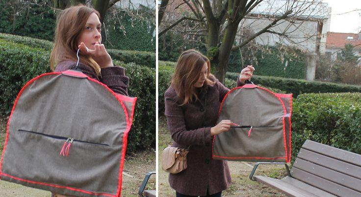 EllyBeth: Une housse à vêtements de voyage at http://www.ellybeth.fr/2013/01/une-housse-vetements-de-voyage.html