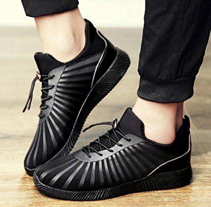 SHIXR Sports Shoes Men 's tessuto elastico stampa offset scarpe casual Anti - Skid scarpe traspiranti scarpe da corsa: Amazon.it: Sport e tempo libero