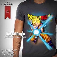 Kaos DRAGON BALL, Goku Kamehameha, Kaos 4D, Kaos 4 Dimensi, Kaos Karakter DRAGON BALL, Kaos SUPER SAIYAN, Kaos3D, https://instagram.com/kaos3dbagus, WA : 08222 128 3456, LINE : Kaos3DBagus