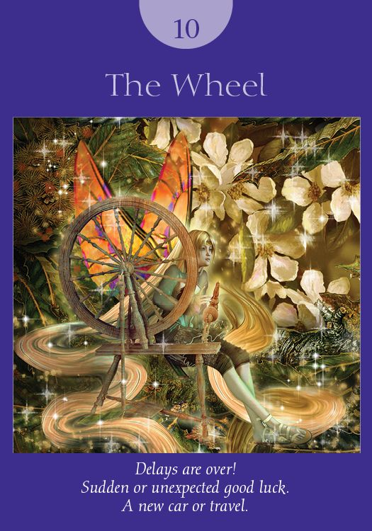 Oracle Card The Wheel | Doreen Virtue | official Angel Therapy Web site