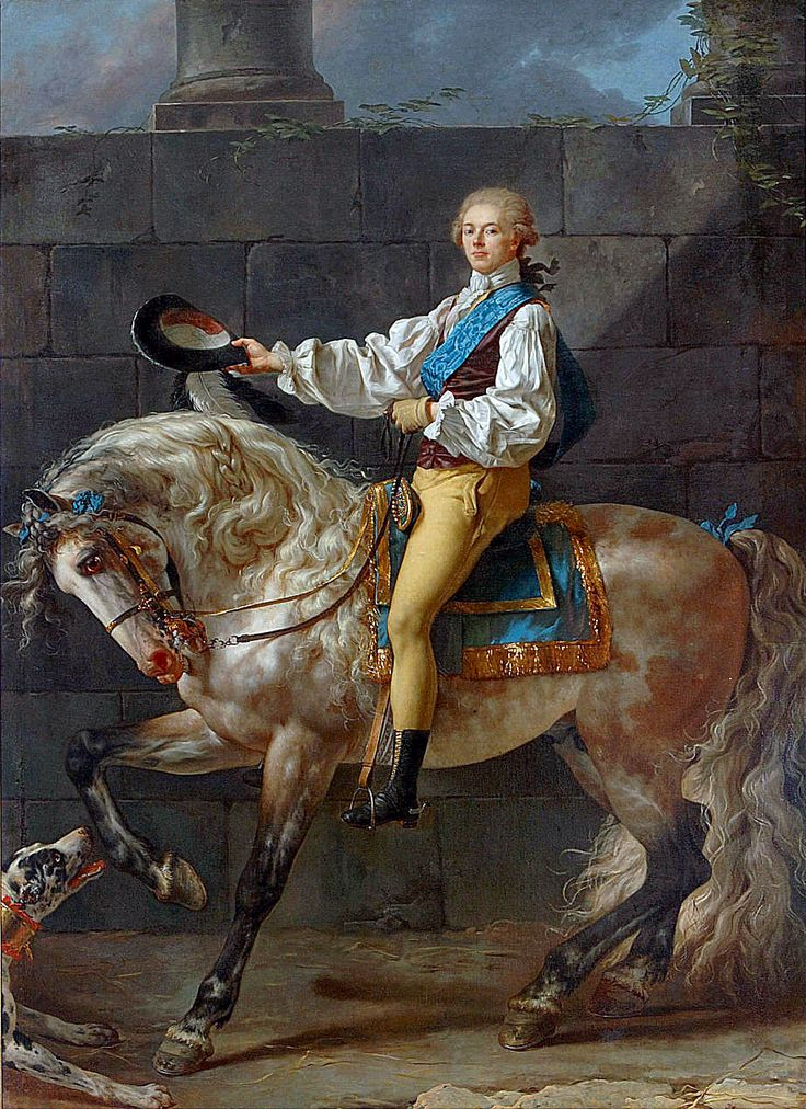 Portrait of Count Potocki, byJacques-LouisDavid,1780-1781