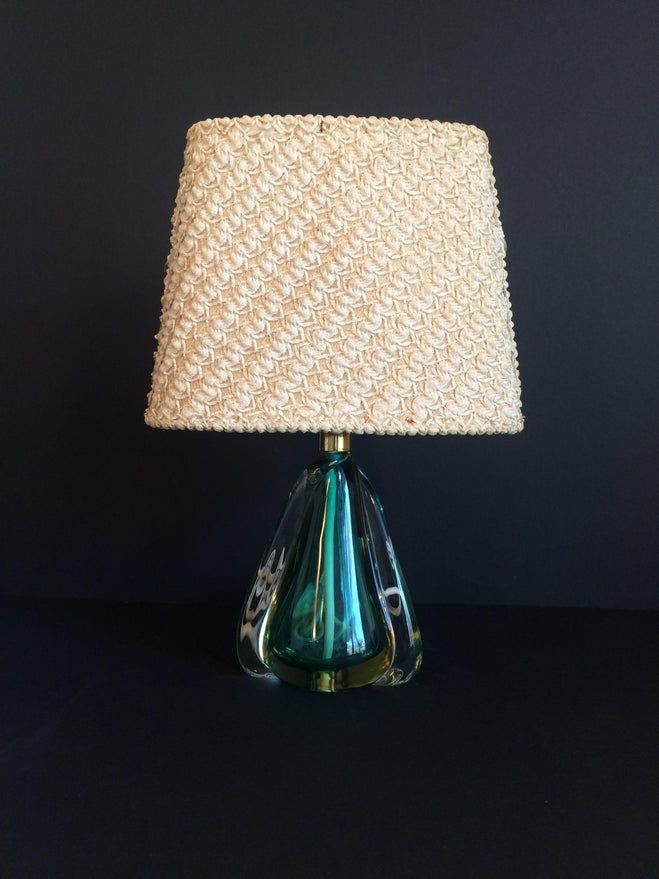 1950 S Daum Cristal Table Lamp W Original Shade In 2020 Lamp Table Lamp Shades