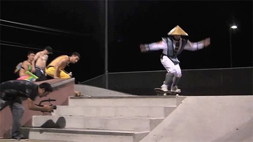 This skateboarder, who pretty much just nailed a FLAWLESS VICTORY: | 13 People Just Playing Life On Expert Level