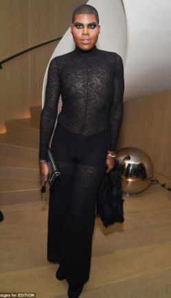 See what E.J Johnson wore to a New York party | olaruks