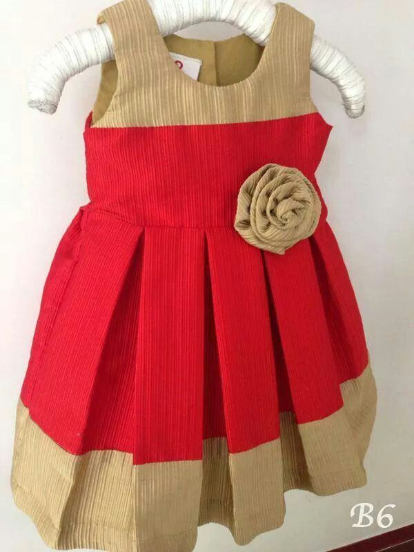 Simple yet bright frock