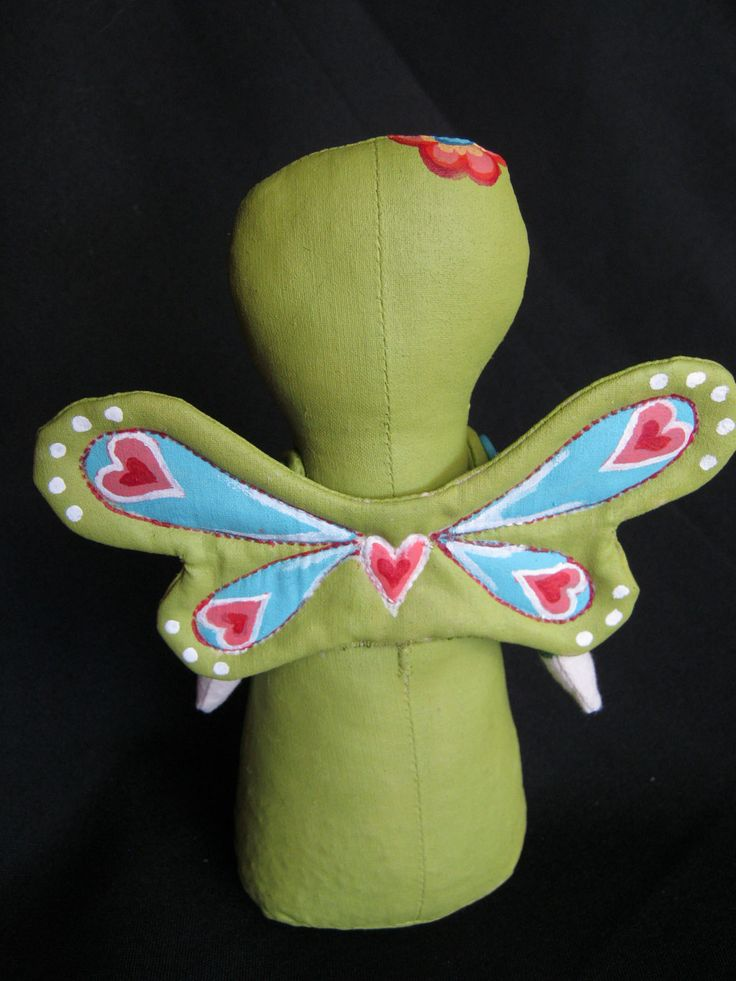 Butterfly Stump Doll by Hally Levesque