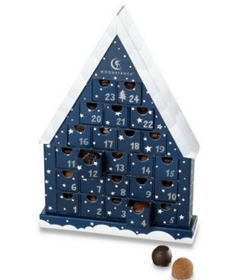 A chocolate advent calendar--filled with truffles! For adults!