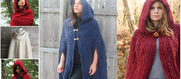How To Crochet Hooded Cape