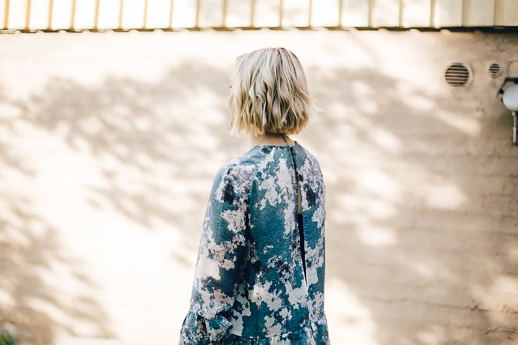 Blue fairy like dress / H&M Conscious Exclusive