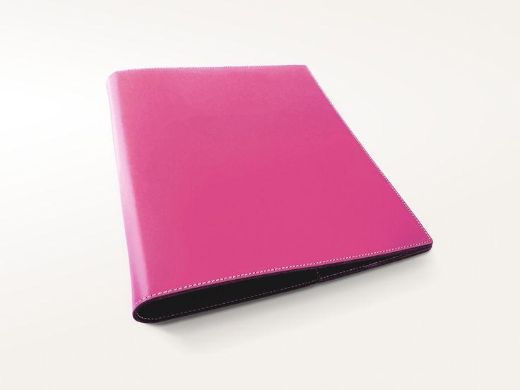 Pink Italian Leather 3 Ring Binder – Jenni Bick Bookbinding