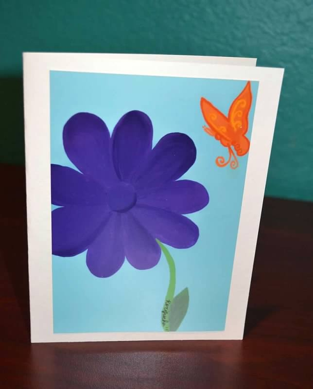12 best greeting cards images on pinterest a photo card stock and this is a photo of a painting that keri painted herself card stock is ivory and includes an envelope card is blank inside buy a pack of 12 one of each m4hsunfo