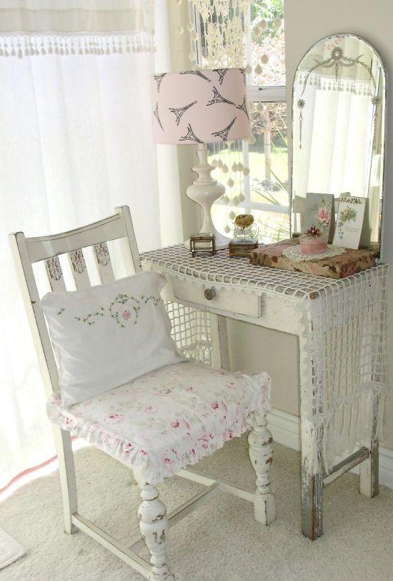 106 besten shabby chic cottage decor bilder auf pinterest. Black Bedroom Furniture Sets. Home Design Ideas