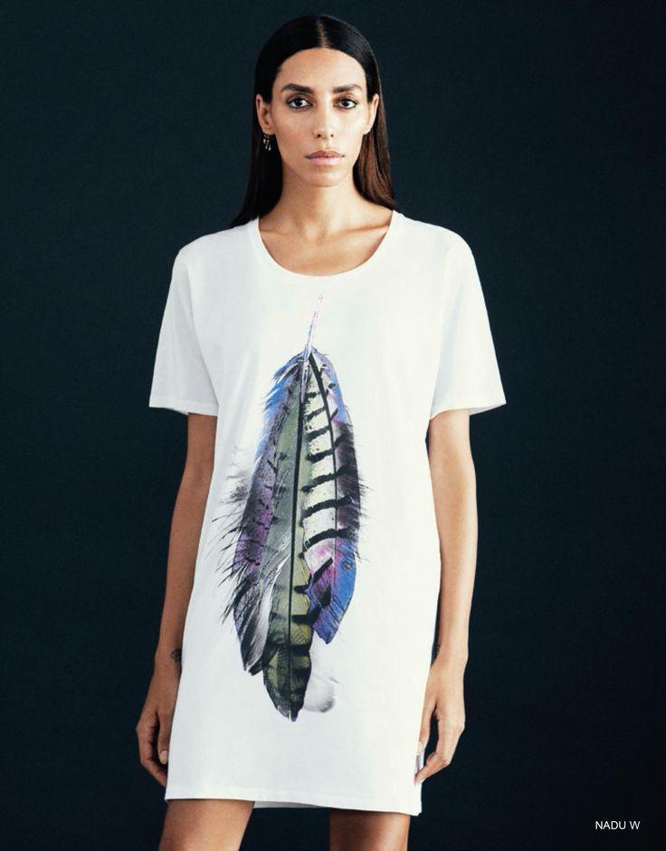 PLUMA white t-shirt