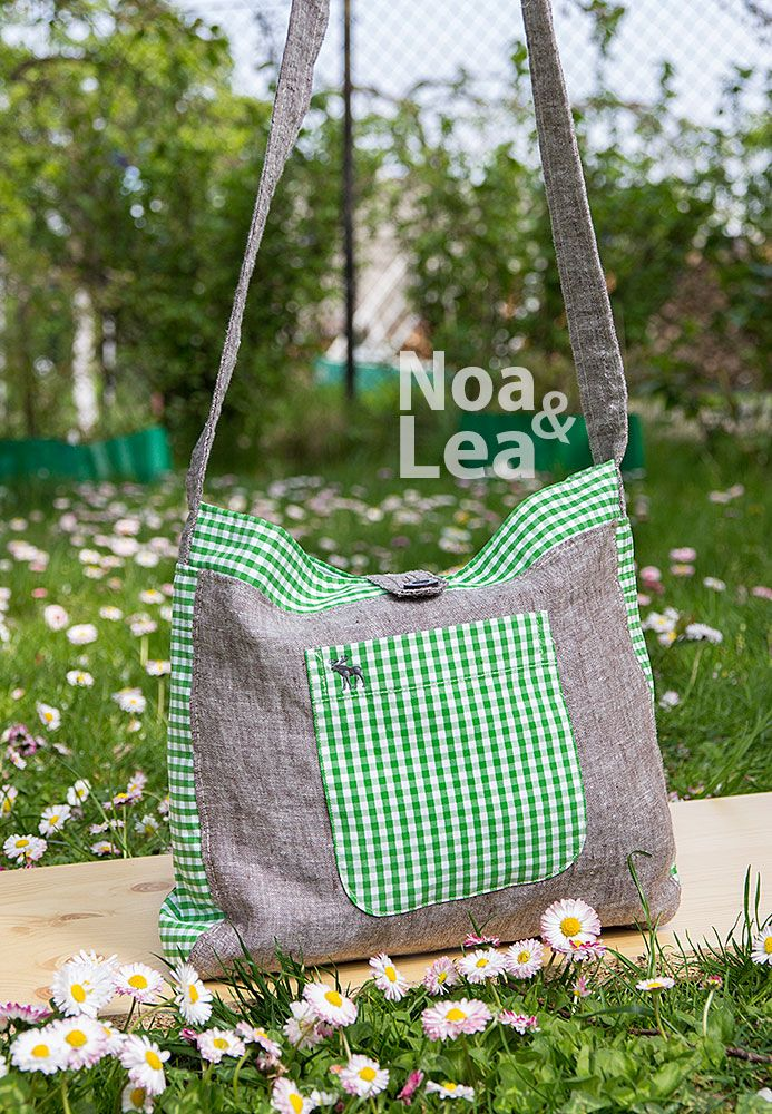 Upcykling toreb - torba na ramię  Upcycled shoulder bag  http://noa-lea.pl/index.php/pl/galeria