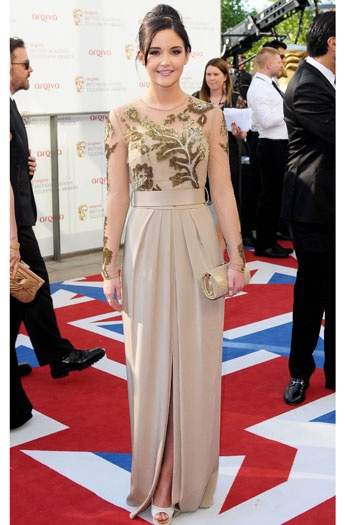 Jacqueline Jossa Looked All Grown Up At The BAFTA TV Awards 2012