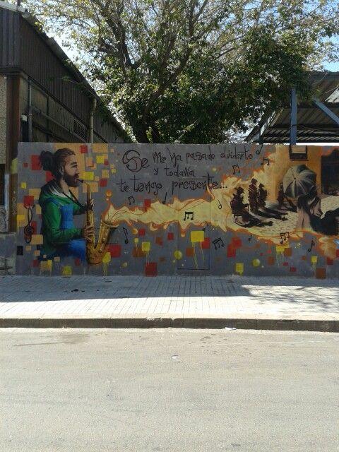 Grafiteando Sabadell graffitis