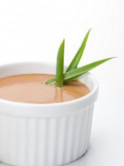 SPICY PEANUT SAUCE 1/4 cup toasted sesame oil    1/2 cup peanut butter, organic, raw    2 Tbsp lemon juice, freshly squeezed    2 Tbsp agave nectar    1 Tbsp chipotle peppers, diced    1/2 cup water, filtered