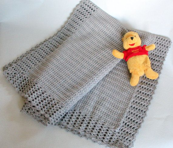 Baby Blankets Crochet Baby Blanket Knitting Blanket by Initasworks