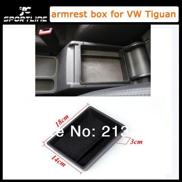 2010-2014 Лучшие продажи ABS авто подлокотник коробка, центральная Консоль Хранения, подлокотник крышка для VW Tiguan (Подходит Для VW Tiguan 2010-2014)