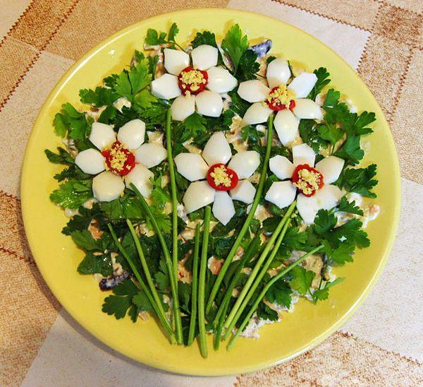 Л-Урок 11.Украшение салатов, винегретов и закусок  (продолжение) ..