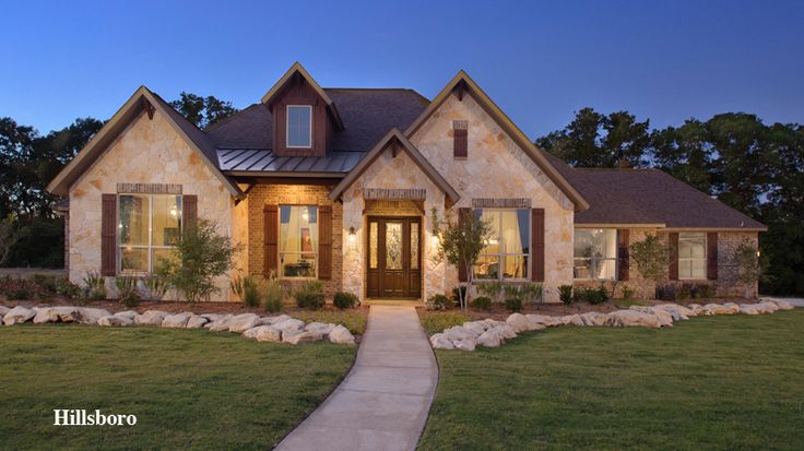 Hill country style home hello pretty for the home Hill country style homes