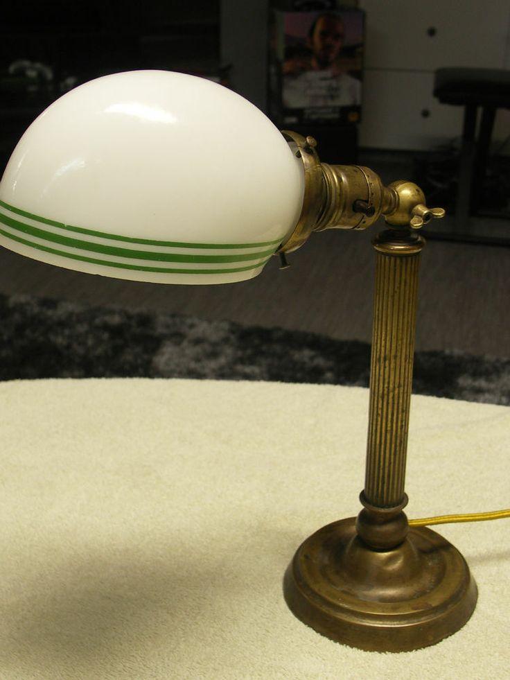 about vintage student desks and lamps on pinterest office desk. Black Bedroom Furniture Sets. Home Design Ideas