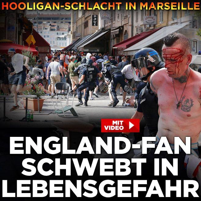 #Brutal:Schwere #Krawalle in #Marseille http://www.bild.de/sport/fussball/em-2016/gewalt-chaos-vor-england-spiel-46241808.bild.html … ENG vs Russia,go to hell both lol+ShameU,#hooligans!
