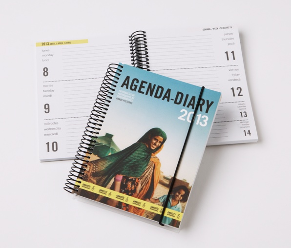 Our 2013 Amnesty International Diary contains amazing photos taken by photographers from the world renowned Panos Pictures agency.