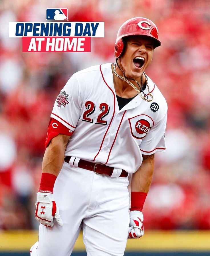 Cincinnati Reds We're having an OPENING DAY VIEWING PARTY
