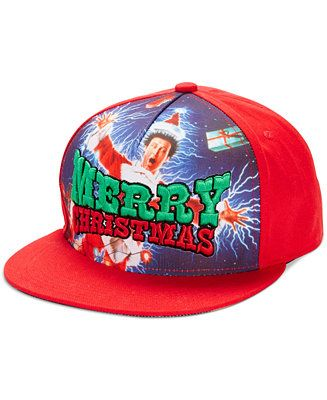 Show your inner Griswold with this Concept One Christmas Vacation Trucker Hat for GBP 13.95 at Macy's UK #UglySweater #Swagbucks #CandyCaneGang Carnival90 @swagbucks