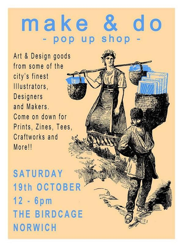 Make & Do -pop up shop at The Birdcage