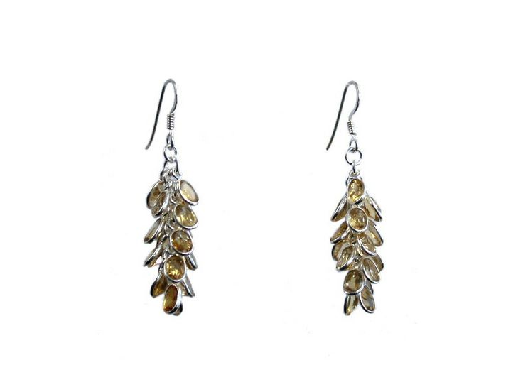 Gemstone earrings from Coeval!  Visit: http://www.coeval.co.za/