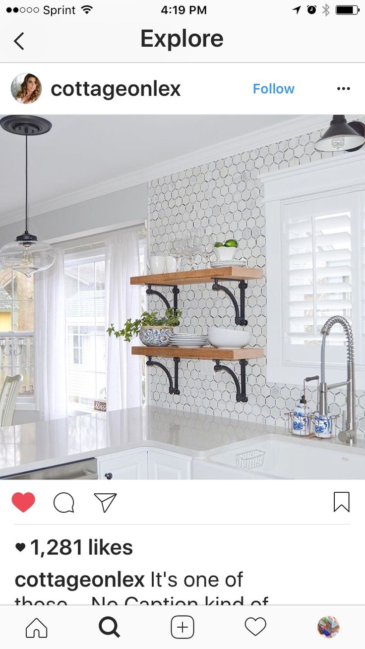 Love These Shelves And Kitchen Look Ideas For Condo Pinterest Condos Shelves And Kitchens
