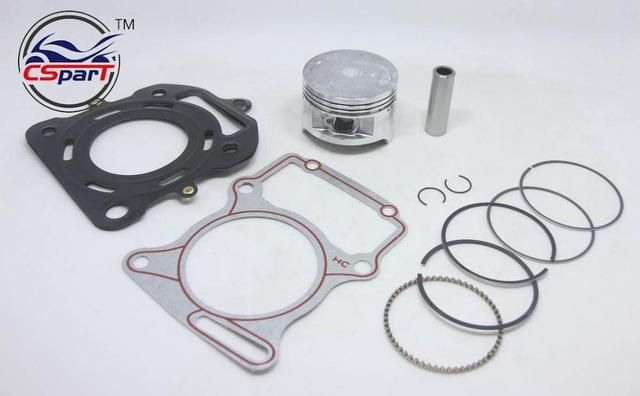 63.5MM 15MM Piston Kit Ring Gasket For Honda CG200 200CC watecooled Shineray ZongShen Lifan Taotao ATV Quad Kaya Pit Bike