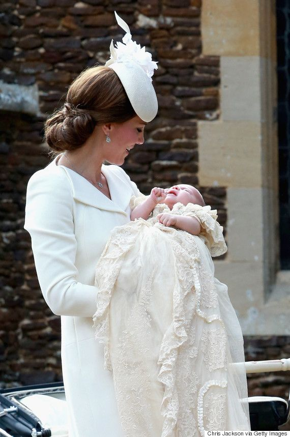 Princess Charlottes Christening Is A Fashionable Event For Duchess Kate And The Royal Family