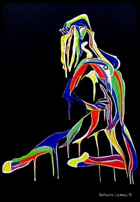 Online veilinghuis Catawiki: Antoine Liesens - Nude Ballerina