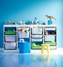 ikea storage solution for boys room!