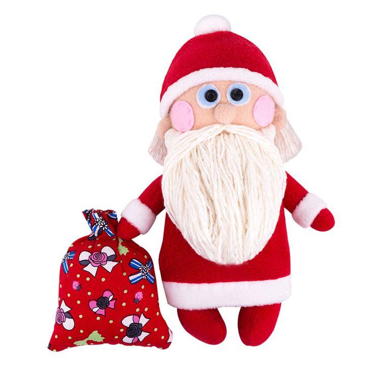 Дедушка Мороз | Миадолла - наборы для шитья игрушек