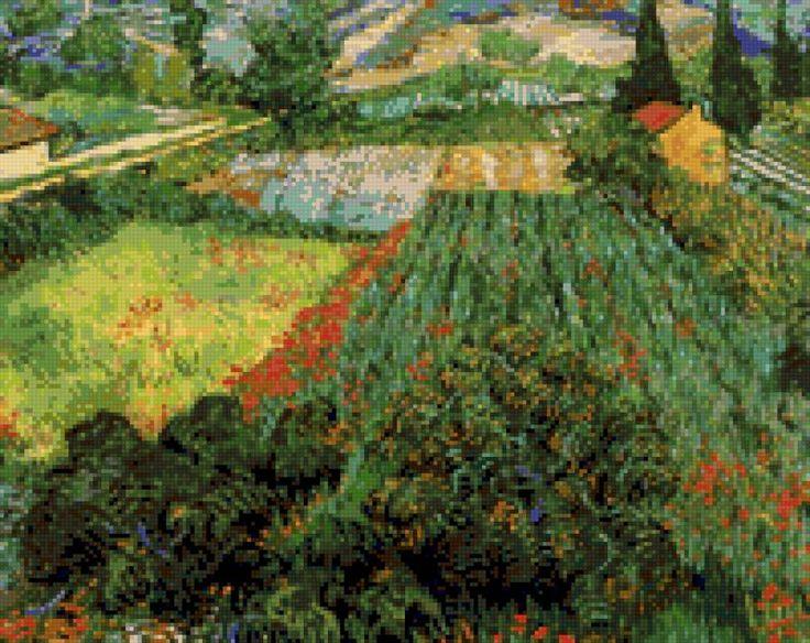 Поле маков (Ван Гог), предпросмотр