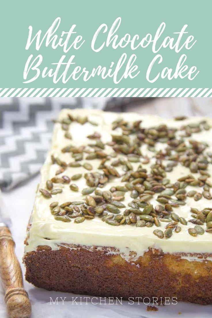 White Chocolate Buttermilk Cake