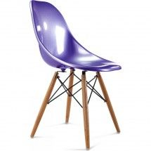 Chaise violet inspirée SW Charles Eames