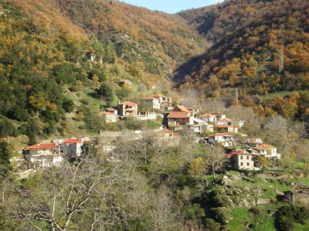 Dikastro village