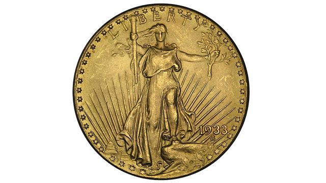 SEE THE ORIGINAL ARTICLE ON THE STORY OF THE FEW SURVIVING 1933 COINS. THIS IS RECENT NEWS Saint-Gaudens DOUBLE EAGLE, a twenty-dollar gold coin, or double eagle, produced by the United States Mint from 1907 to 1933.