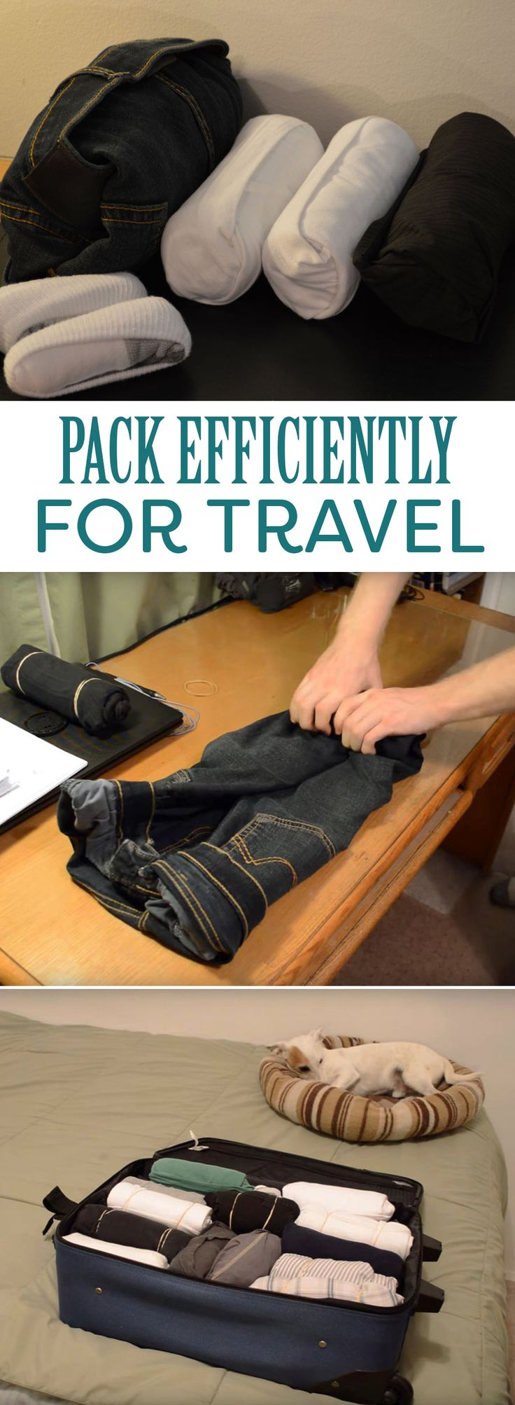 How to Efficiently Pack Clothes for Traveling