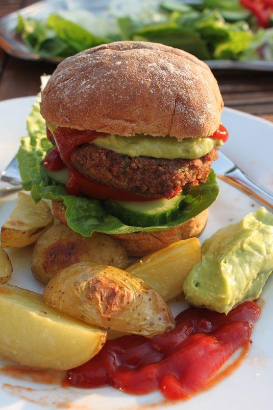 Veg-Kidney-burger