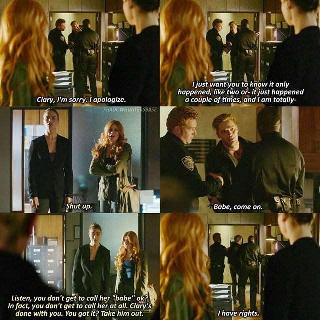 Season 1 Episode 7: Jace and Clary, I think that this was one of my favorite scenes in the series so far