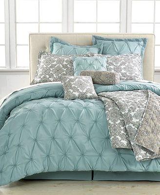 Jasmine Blue 10 Piece California King Comforter Set | idk. Maybe once I get headboard done