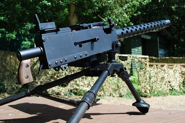 50 Cal Ww2 Machine Gun Google Search Guns Guns Ww2